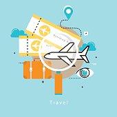 Travel, trip planning design