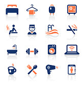 An illustration of travel two color icons set for your web page, presentation, apps and design products. Vector format can be fully scalable & editable.