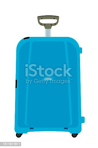 istock Travel vacations design picture, vector illustration of suitcase, case, bag, briefcase in realistic style. Universal for web and mobile UI and application or web 1311611811