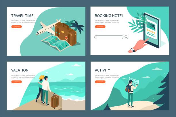여행 - travel stock illustrations