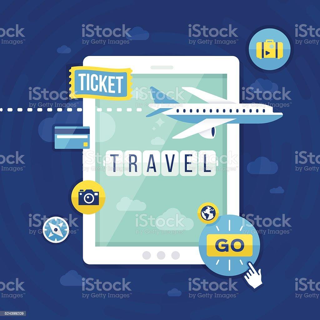 Travel – Vektorgrafik