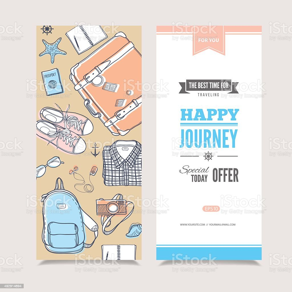 Travel vertical invitation stock vector art more images of 2015 travel vertical invitation royalty free travel vertical invitation stock vector art amp more images stopboris Gallery