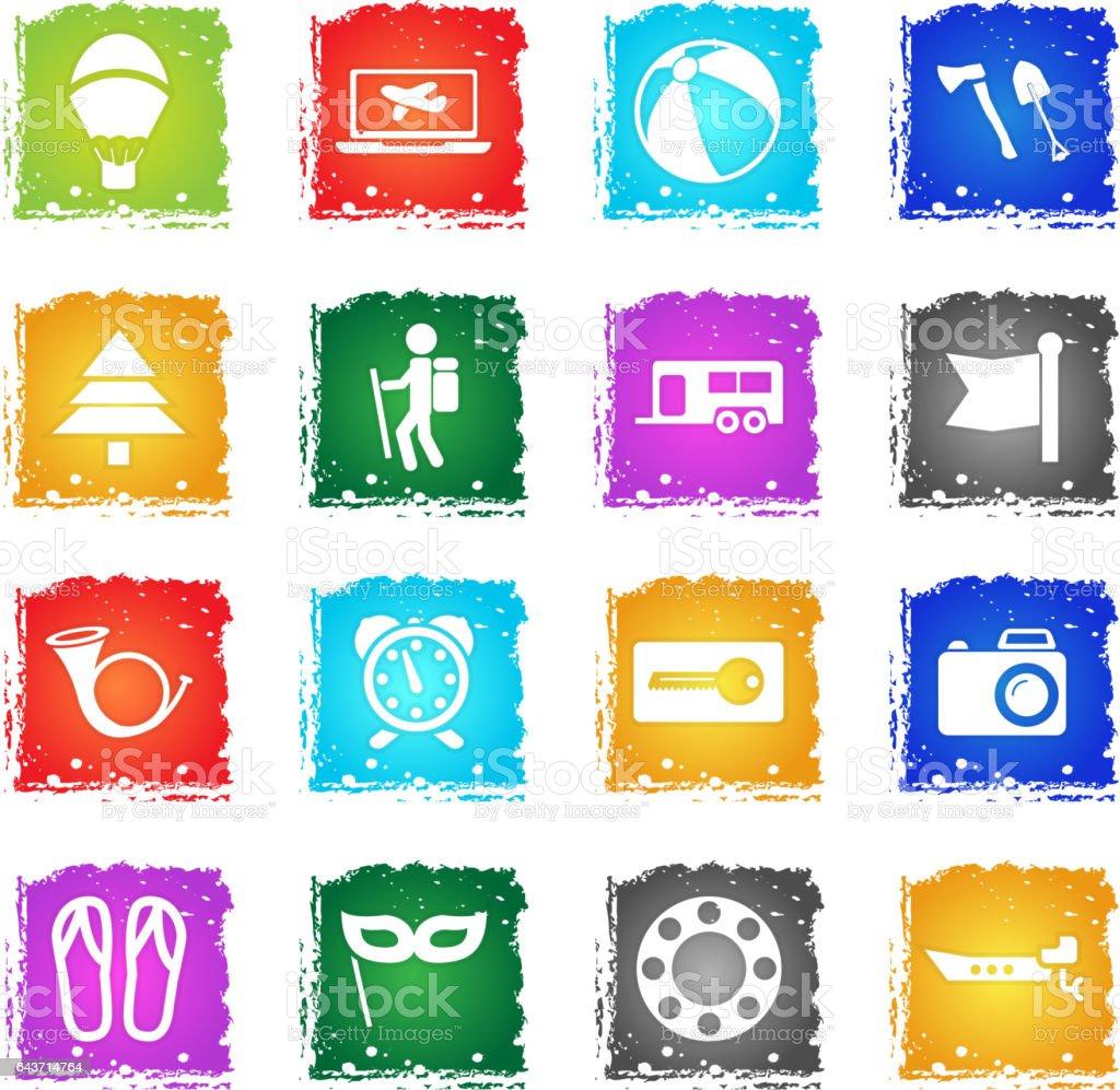 Travel_21 vector art illustration