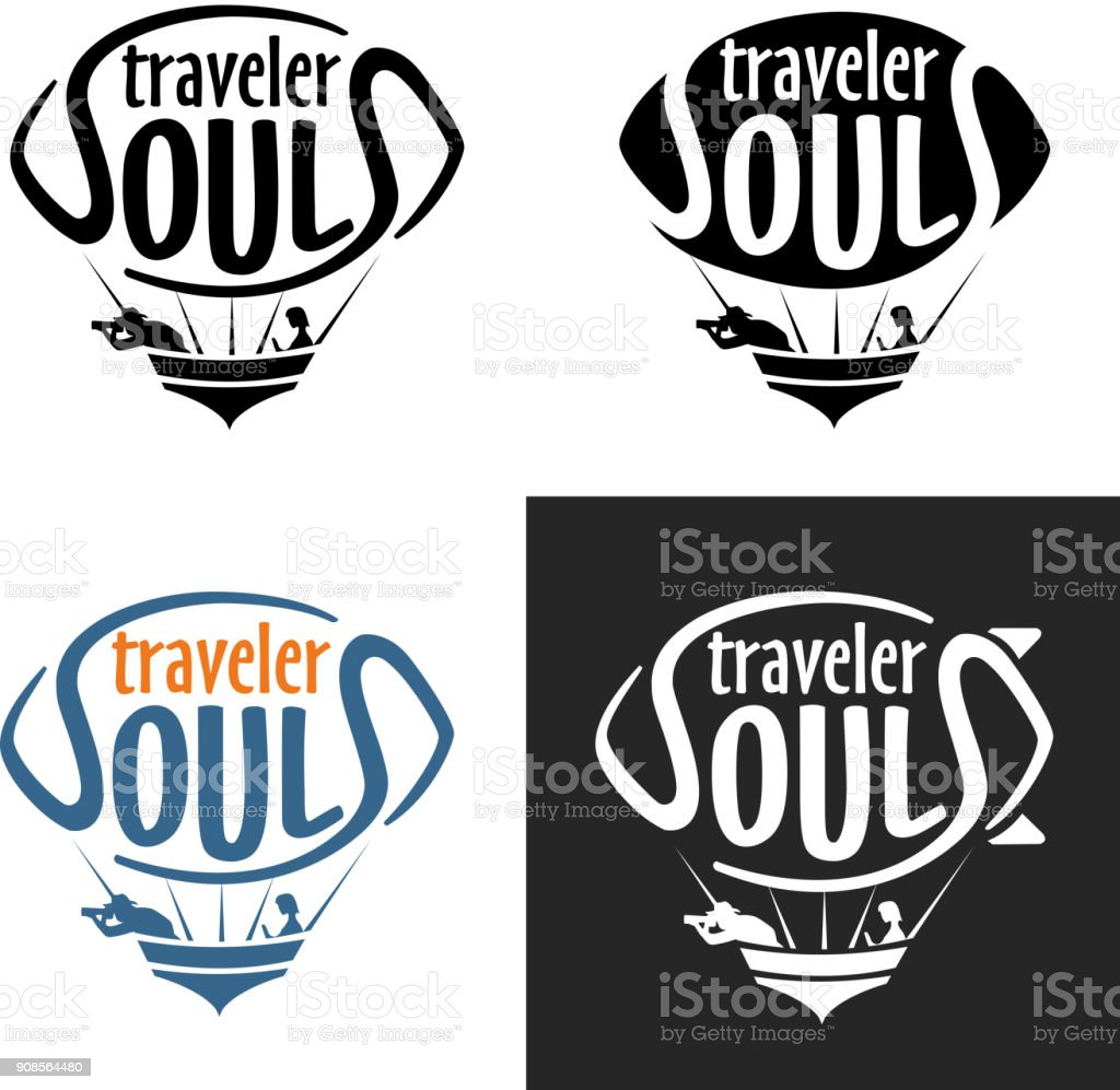 Traveler Zeppelin Logo vector art illustration