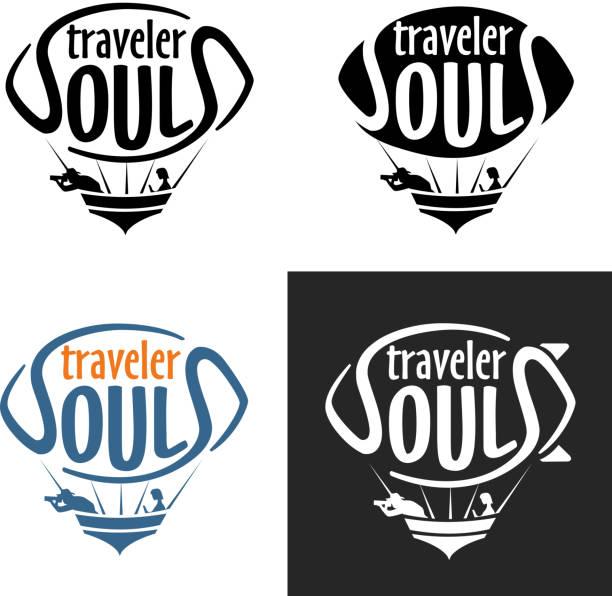 Traveler Zeppelin Logo vector art illustration