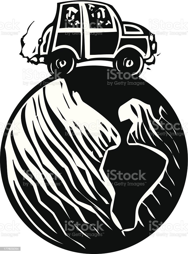 Traveling Around the World royalty-free traveling around the world stock vector art & more images of car