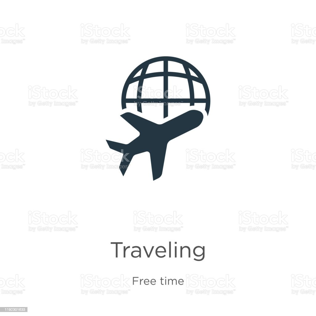 Traveling Icon Vector Trendy Flat Traveling Icon From Free Time Collection Isolated On White Background Vector Illustration Can Be Used For Web And Mobile Graphic Design Logo Eps10 Stock Illustration Download