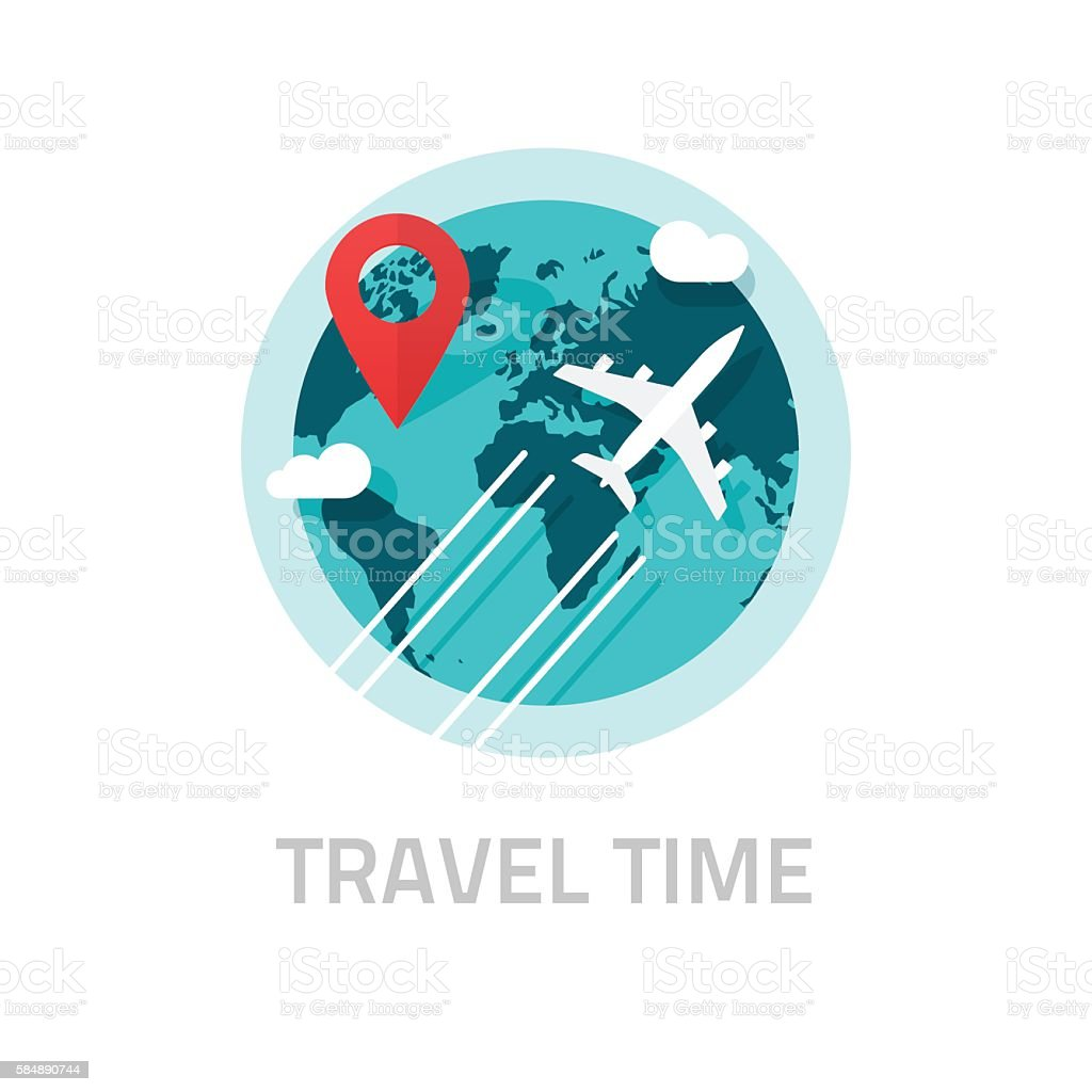 Travelling around world by plane vector travel and trip logo stock travelling around world by plane vector travel and trip logo royalty free travelling around biocorpaavc Choice Image