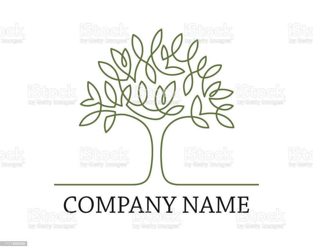 Tre One Line Logo Stock Illustration   Download Image Now   iStock
