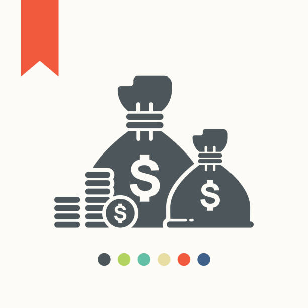 treasure icon Treasure icon,vector illustration. bringing home the bacon stock illustrations