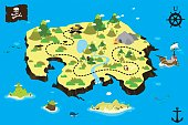 map for treasure hunting