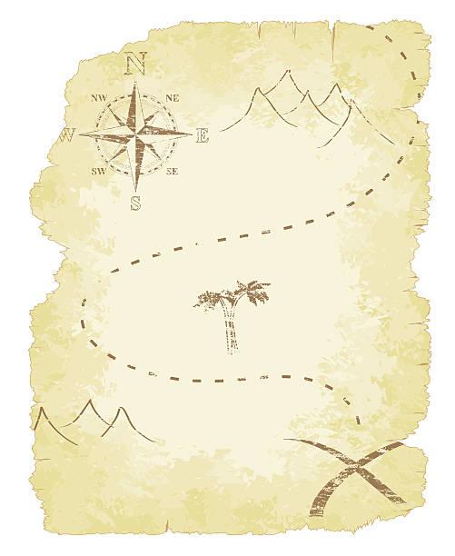 ilustrações, clipart, desenhos animados e ícones de mapa do tesouro - mapas de tesouro