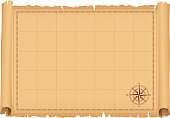 istock Treasure Map 494002335
