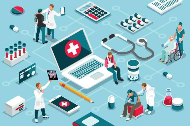 behandlung und unterstützung der klinik - oberhaus stock-grafiken, -clipart, -cartoons und -symbole