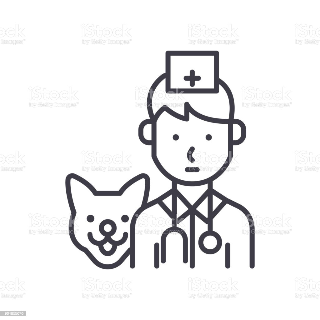 Treatment of animals black icon concept. Treatment of animals flat  vector symbol, sign, illustration. royalty-free treatment of animals black icon concept treatment of animals flat vector symbol sign illustration stock vector art & more images of abstract