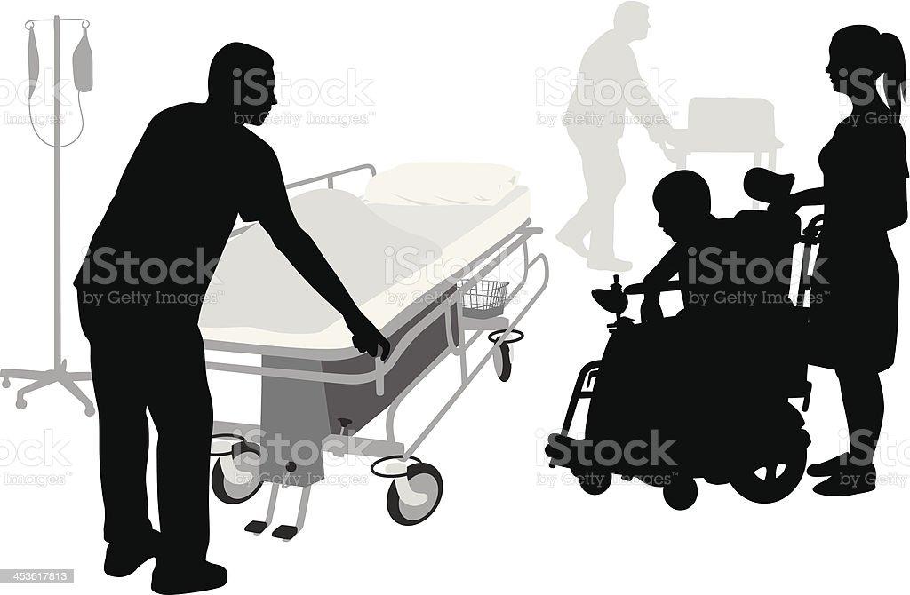 Treatment vector art illustration