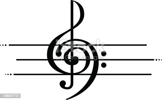 Marriage of Treble and Bass Clef