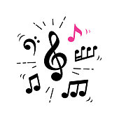 istock treble clef and musical notes 1257112584