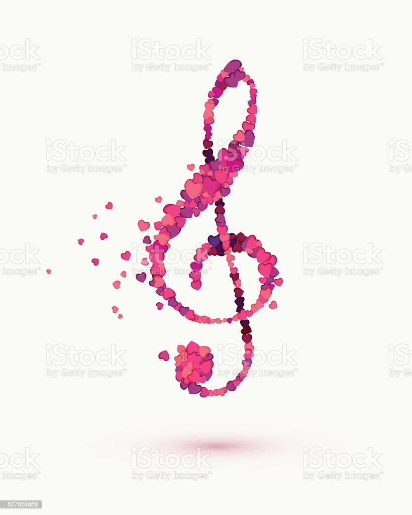Treble Clef Heart Cheap Treble Clef Heart With Treble Clef Heart