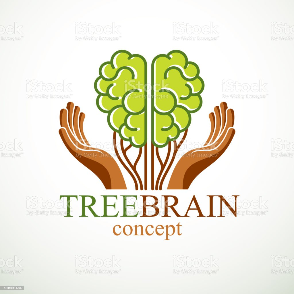 Tree Brain Concept The Wisdom Of Nature Intelligent Evolution Human