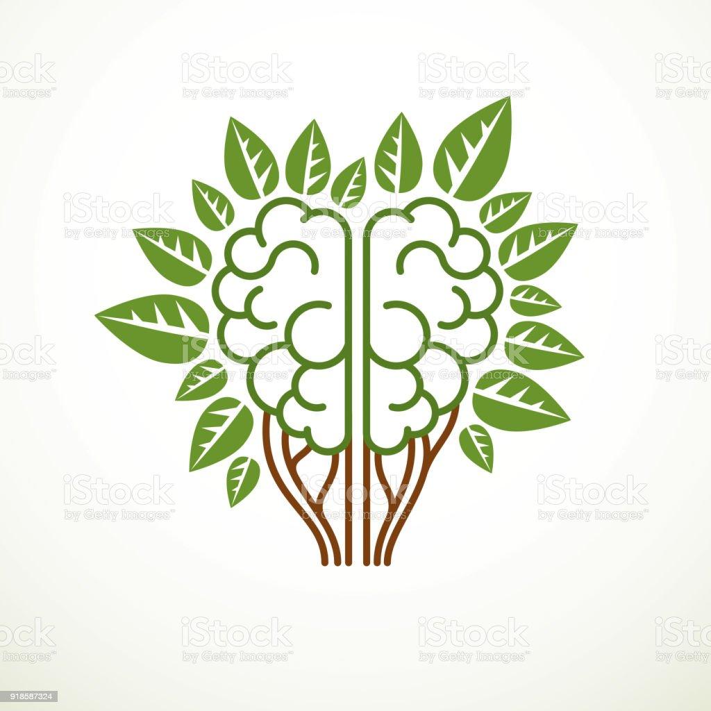 Baumgehirnkonzept Die Weisheit Der Natur Intelligente Evolution ...