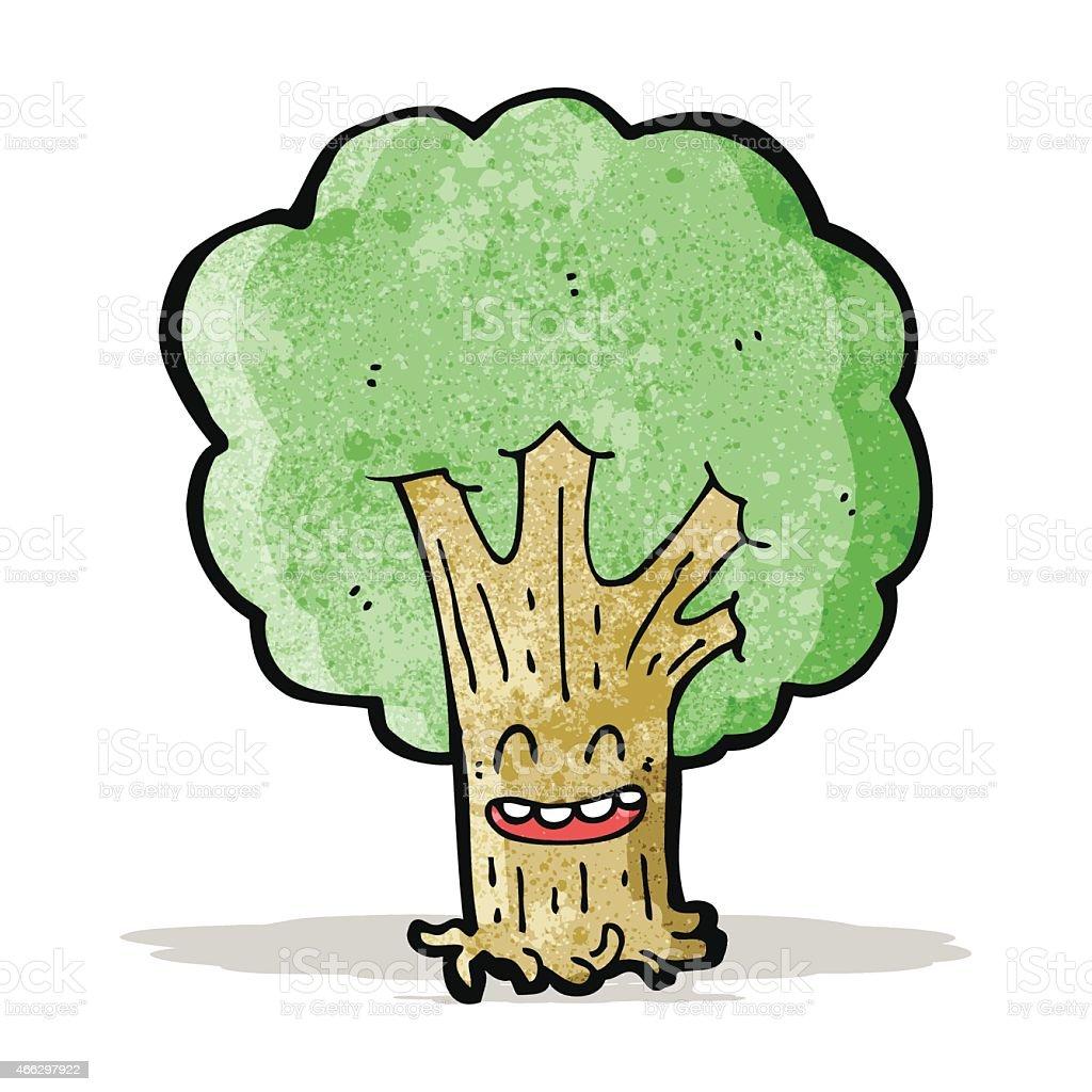 Baum comicfigur stock vektor art und mehr bilder von baum - Baum comic bilder ...