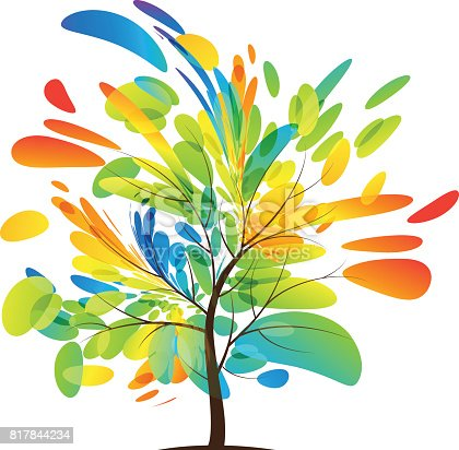 istock Tree design 817844234
