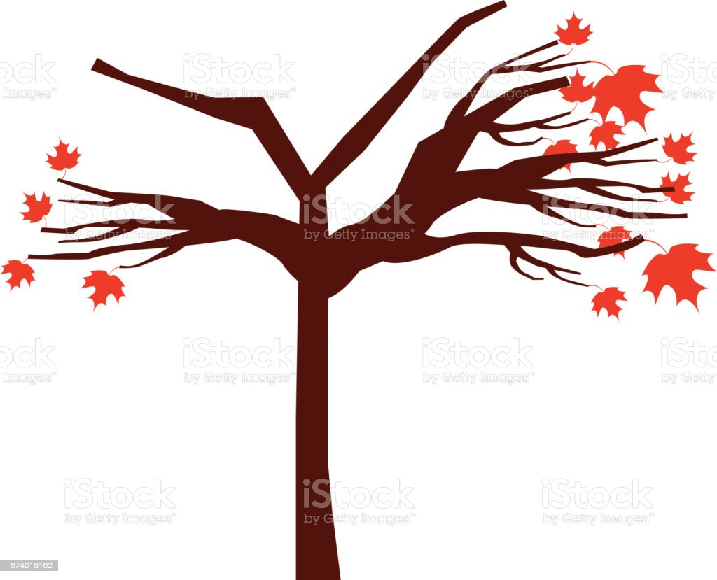 tree dry isolated icon royalty-free tree dry isolated icon stock vector art & more images of botany