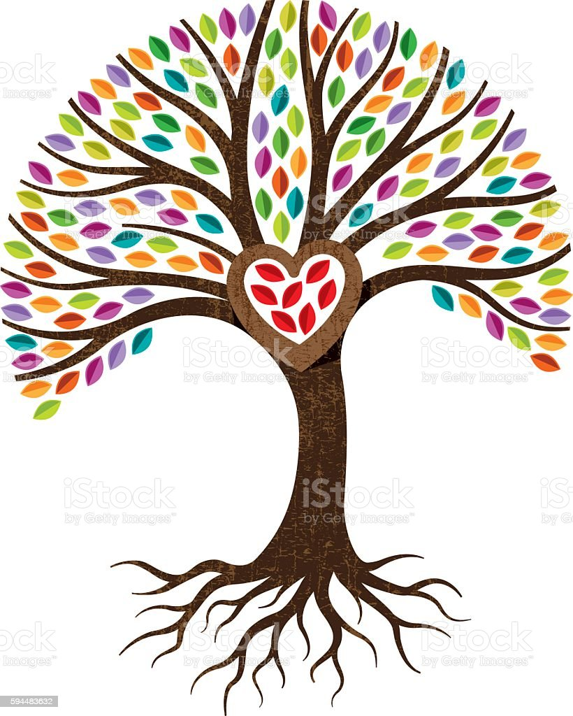 royalty free creation clip art vector images illustrations istock rh istockphoto com tree with roots clipart png clipart tree with roots outline