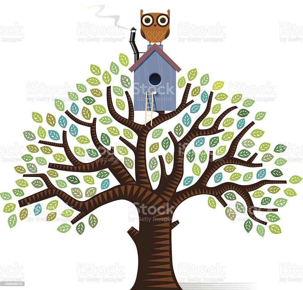 Tree house tree