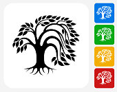 Green Tree Collection icon set