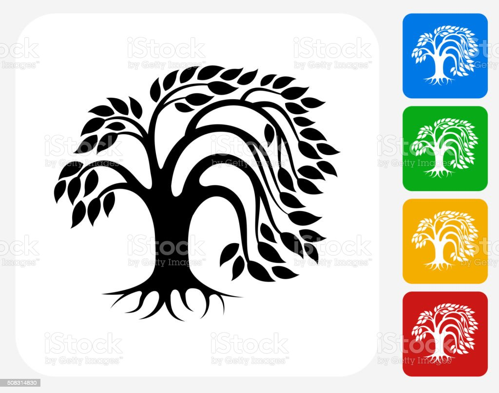 royalty free willow tree clip art vector images illustrations rh istockphoto com willow tree clipart black and white weeping willow tree clipart