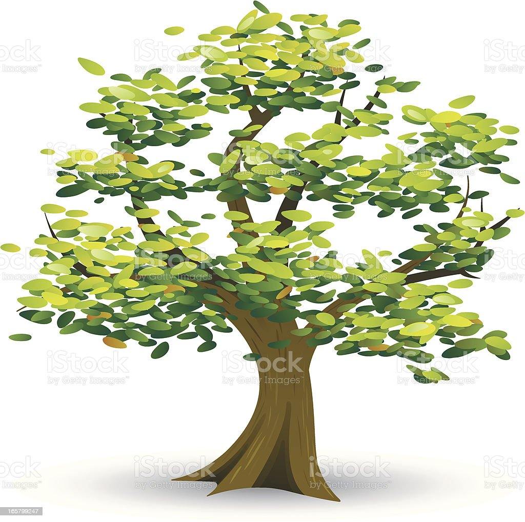 Tree Icon royalty-free stock vector art