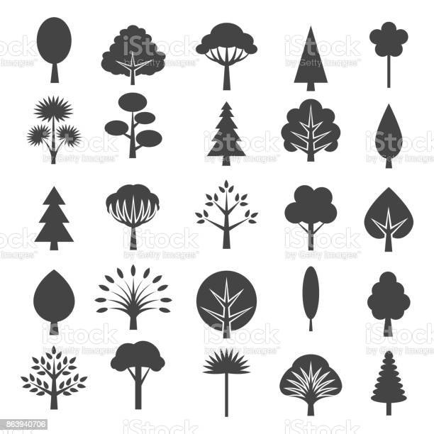 Tree icons isolated on white background vector id863940706?b=1&k=6&m=863940706&s=612x612&h=qpnmc4xjgouumpjtpf3qc9ed7xys b7udgwnqdw2gkw=