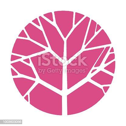 Tree Inside Circle