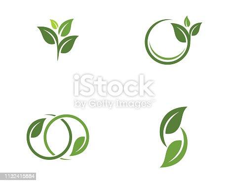 istock Tree leaf vector   design 1132415884