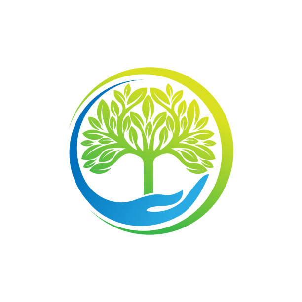 Tree Logo design vector illustration. Abstract Tree Logo vector in creative design concept for nature, agriculture and farm business. Tree Logo, icon, sign and symbol vector design illustration. Tree Logo design vector illustration. Abstract Tree Logo vector in creative design concept for nature, agriculture and farm business. Tree Logo, icon, sign and symbol vector design illustration. conceptual symbol stock illustrations