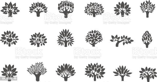 Tree logo set tree illustration icon set tree with flowers vector id643396546?b=1&k=6&m=643396546&s=612x612&h= 8u0kevun9mqwrkbazb7bo1x fkkxbzxs vs1bmwp1a=