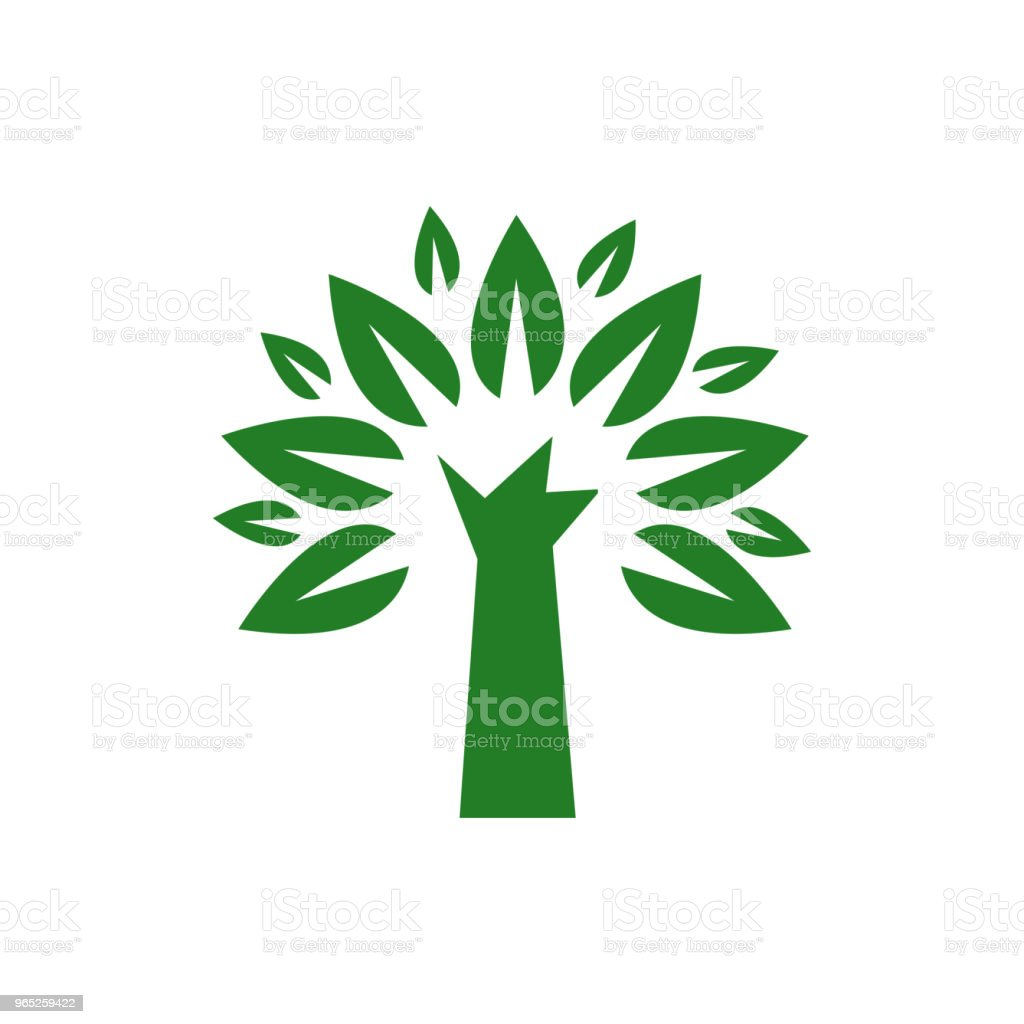 Tree Nature Logo Vector Template Design royalty-free tree nature logo vector template design stock vector art & more images of abstract