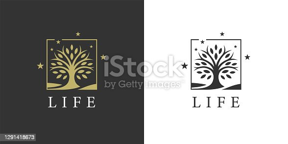 istock Tree of life icon 1291418673