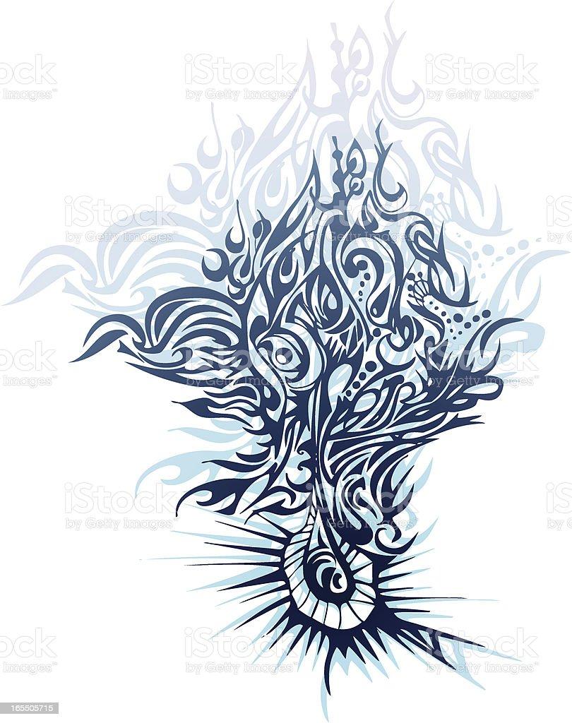 tree of life - ilustração de arte em vetor