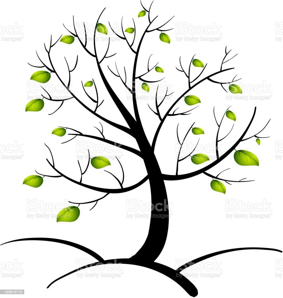 Tree of life royalty-free stock vector art