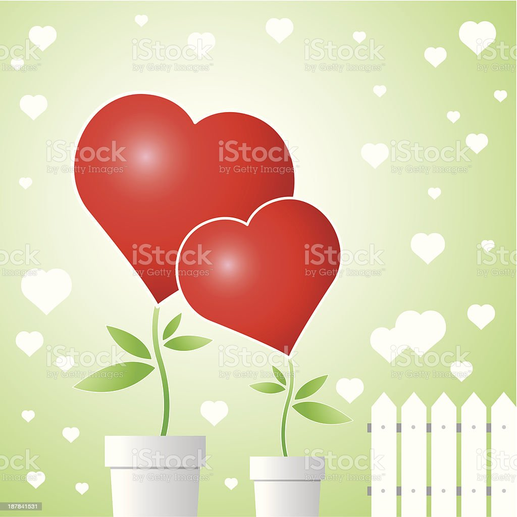 Tree of love royalty-free stock vector art