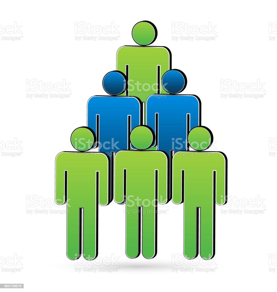 Tree People Unity Symbol Icon Vector Design Stock Illustration Download Image Now Istock