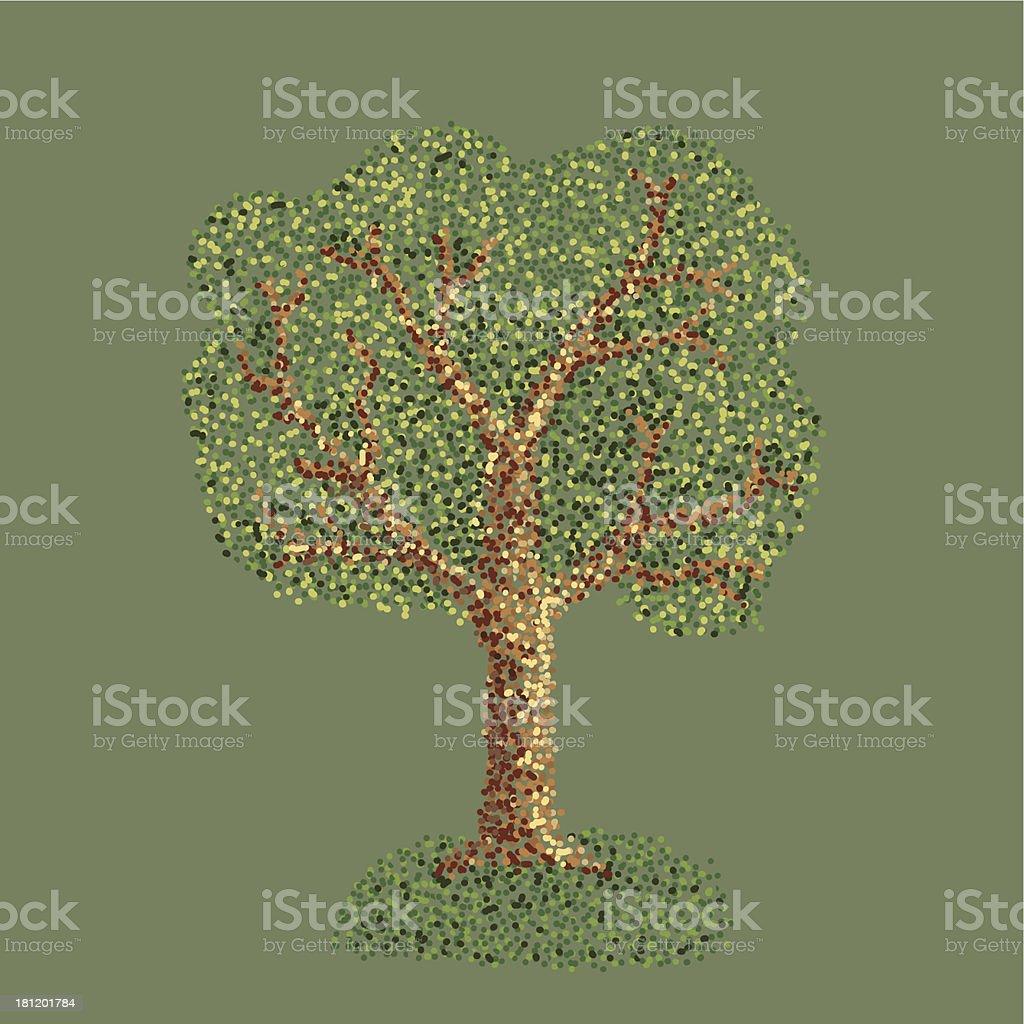 tree point royalty-free stock vector art