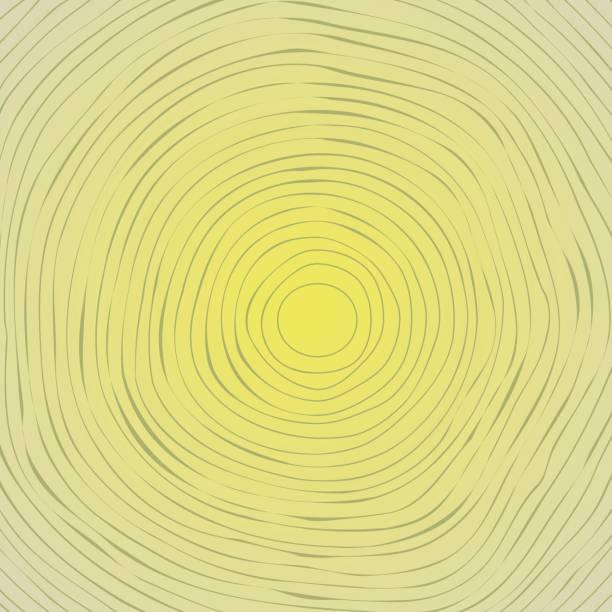 tree rings background vector art illustration