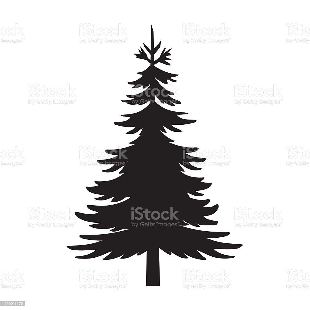 royalty free pine tree clip art vector images illustrations istock rh istockphoto com Drawing Pine Tree Clip Art Pine Tree Clip Art Black and White