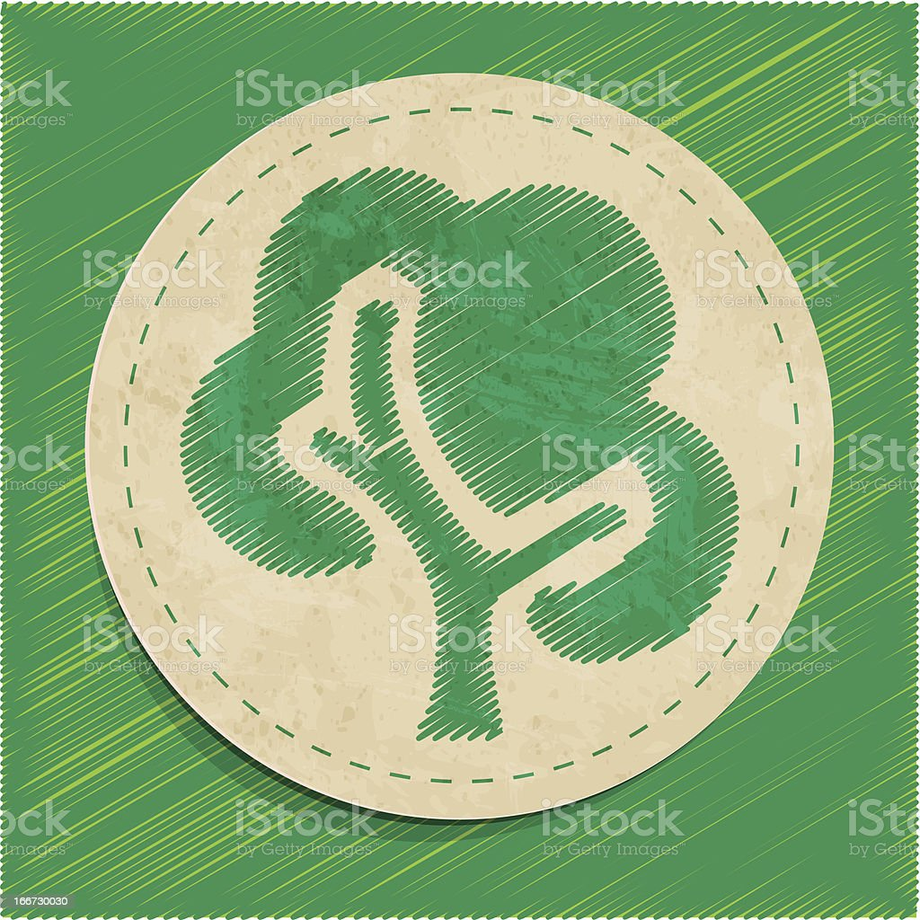 tree sticker royalty-free tree sticker stock vector art & more images of art