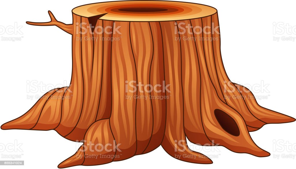 royalty free fallen tree clip art vector images illustrations rh istockphoto com  tree stump clipart png