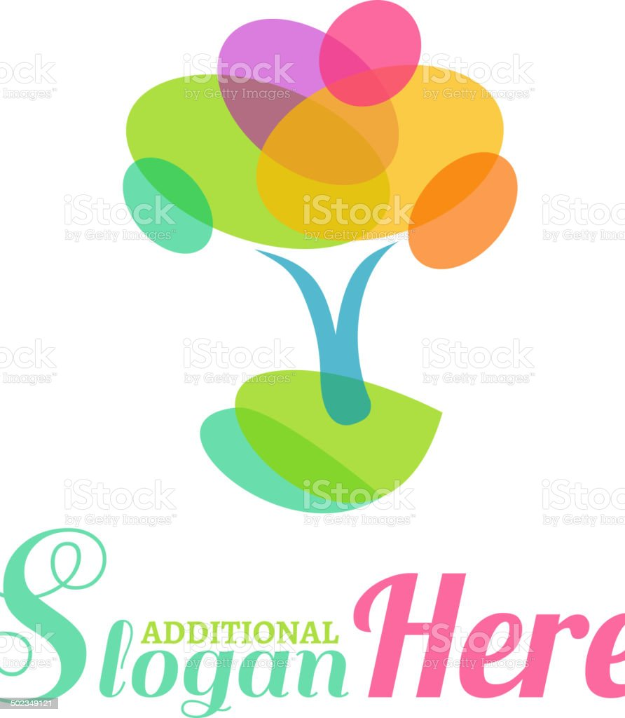 Tree Symbol royalty-free stock vector art
